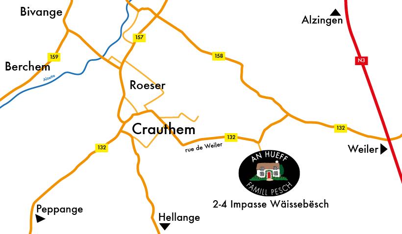 An Hueff Crauthem plan